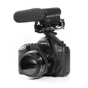 For most DSLR cameras Microphone Photography Interview Shotgun Recording Stereo Portable Microphones Mini Cool Mic Microphone