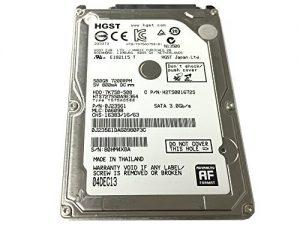 "HGST 7K750-500 HTS727550A9E364 (0J23561) 500GB 7200RPM 16MB Cache SATA 3.0Gb/s 2.5"" Internal Notebook Hard Drive - w/1 Year Warranty"