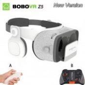Original bobovr Z5/bobo vr Z5 Virtual Reality goggles 1 FOV 3D Glasses google cardboard with Headset Stereo Box For smartphone