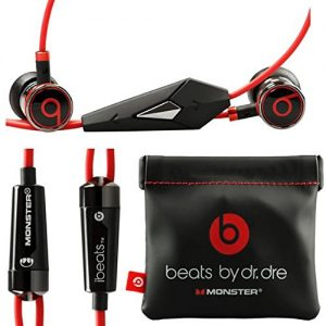Monster Beats By Dr Dre Ibeats in Ear Headphones Earphones Black – (Supplied with no retail packaging)