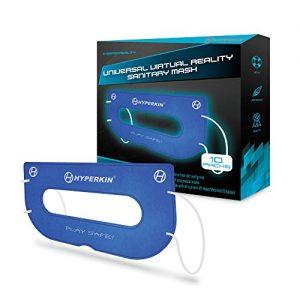 Hyperkin Universal VR Sanitary Mask for HTC Vive/ PS VR/ Gear VR/ Oculus Rift (Blue) (10-Pack)