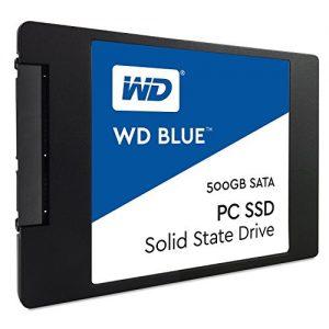 WD Blue SATA 6Gb/s 2.5 Inch 500GB Internal SSD Solid State Drive (WDS500G1B0A)