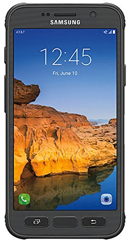 Samsung Galaxy S7 Active G891A 32GB Unlocked GSM Shatter,Dust and Water Resistant Smartphone w/ 12MP Camera – Titanium Gray