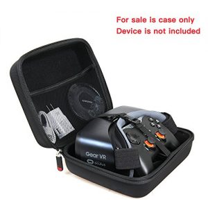Hard Travel Case for Samsung Gear VR W/Controller – Latest Edition by Hermitshell