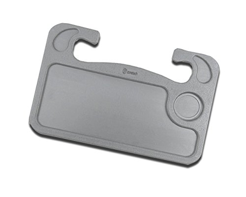 Zone Tech Gray Portable Car Laptop and Food Steering Wheel Tray